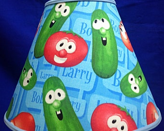Veggie Tales Larry Bob Lamp Shade
