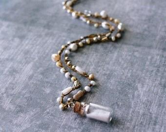 Boho Necklace, Boho Jewelry, Bohemian Necklace, Beaded Necklace, Layering Necklace, Bohemian Jewelry, Seashell Necklace, Valentines Gift