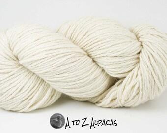 Royal Baby Alpaca Yarn Bulky Weight Natural White 200 grams
