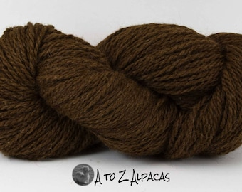 Chunky Weight - Cocoa - Alpaca Yarn - Made in Canada