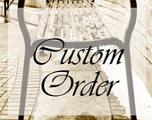 Melissa Waterworth Custom Order