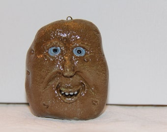 Potato with Silly Face
