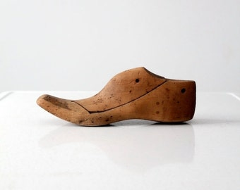 SALE antique shoe form, cobbler's foot last