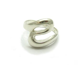 Sterling silver ring solid 925 stylish pendant