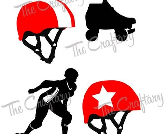 Roller Derby Collection SVG Files
