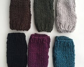 Finger-less Gloves, Hand Knit