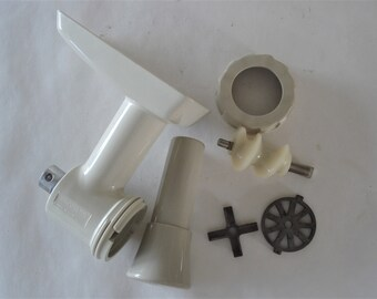 OSTER Kitchen Center Meat Food Grinder Complete Attachment Replacement Part.