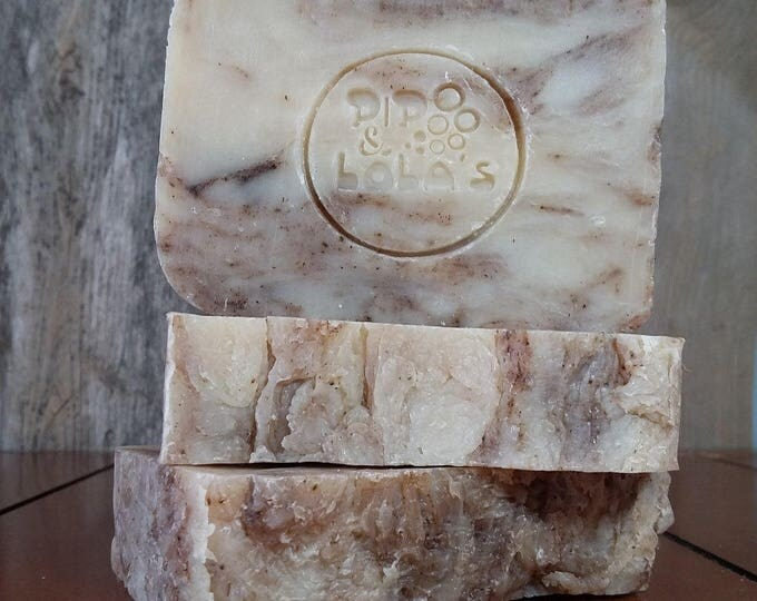 Cup o' Chai Soap - All Natural Soap, Handmade Soap, Essential Oil Soap, Hot Process Soap, Vegan Soap, Barely-Scented Soap, Chai Spice Soap