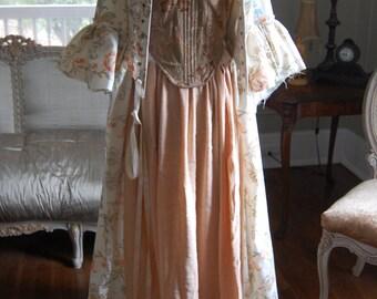 peasant pirate lass bar wench ren LARP tattered Marie Antoinette inspired costume