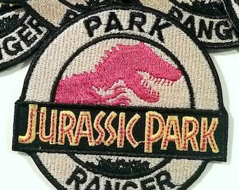 Jurrasic Park PARK RANGER Patch