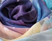 Constellation Mountainscape Silk
