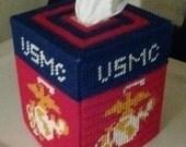 US Marine Corps Tissue Box Cover