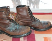 Vtg. Red Wing Steele Toe Mens Work Boot size 10.5 E USA