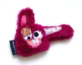 Lil Mini Plush Durable Dog Toy with Secret Heart Fortune & Squeaker - Matisha Rose by Fugly Friends