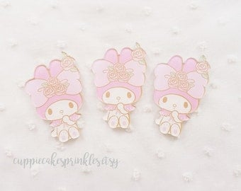 1pc - Kawaii Rosette My Melody Cute Mix Decoden Cabochon (40mm) MYM011