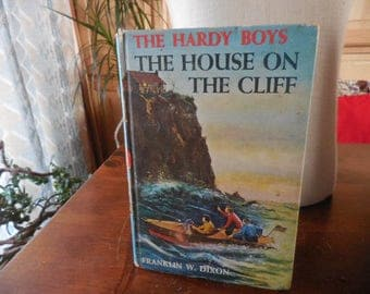 Vintage 1940s to 1960s Hardy Boys Mystery Book Partial Collection (1) Retro Reading Hardcover Stories Franklin W. Dixon