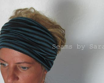 Yoga Head Wrap/ Turban Style // Skinny scarf/// Long head-wrap