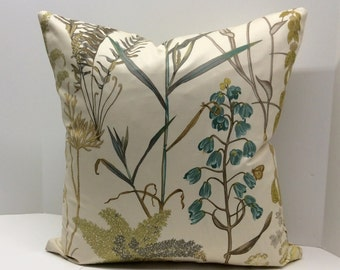 Fern Twill Morning Dew Decorative Pillow Cover