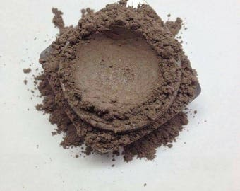 HOT CHOCOLATE Eye Shadow Minerals Organic All Natural Pure Cruelty Pigment