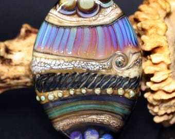 AV-Beads handmade Lampwork Focalbead SRA