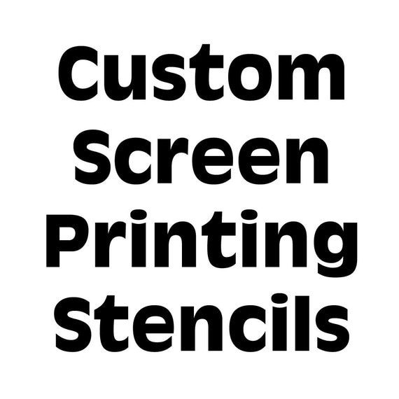 screen printing stencil silkscreen mesh silk screen reusable