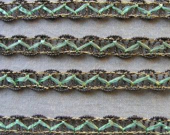 Antique RICH ROYAL DETAILS Metallic Trim By Royal Society
