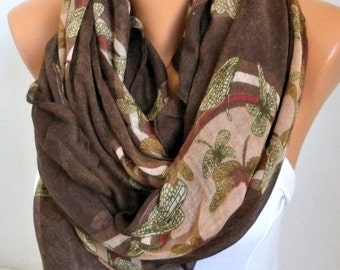 Coffee DRAGONFLY Print Cotton Scarf,Fall Scarf,Christmas Gift Cowl Oversized Wrap Gift Ideas For Her Women Fashion Accessories Women Scarves