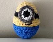 Minion Egg Cozy