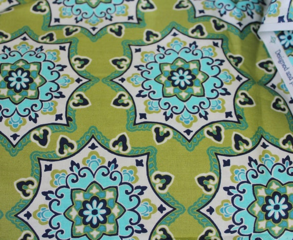 "Medallion fabric,Asian fabric,Moroccan fabric,100% Cotton Fabric,Quilt fabric Apparel fabric,Craft fabric,END OF BOLT 1 Yard 24"" x 44"""