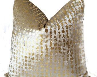 Velvet Pillows - Gold Velvet Pillow Covers - Animal Print Pillow - Gold Pillows - Pillow Covers - Velvet Cushions - Holiday Pillows