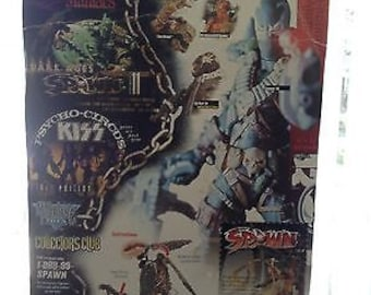 Reanimated  Spawn  Todd McFarlane Huge Wingspan in package