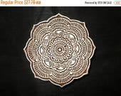 10% Off on Circle Indian block printing stamps/wooden block for printing/ paper and fabric printing stamp