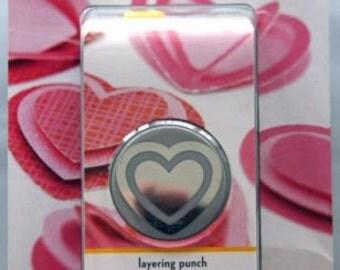 EK Tools LAYERING HEART Heart Punch