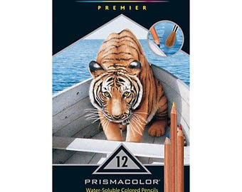 ON SALE -- Prismacolor Premier Colored Pencils, Water-Soluble, 12 Pack
