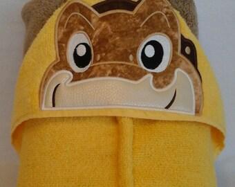 Dinosoar Littlefoot Hooded Towel
