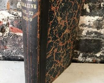 Rare Antique McClures Magazine Book Periodical Victorian Antique Book