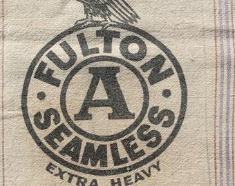 Fulton A Seamless Extra Heavy vintage sack.  1112165