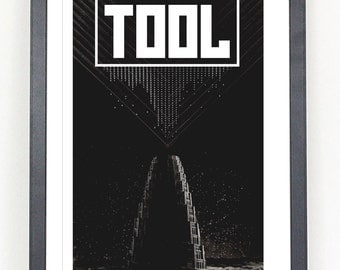 The Tool band poster print