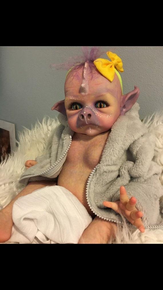 Dragon Hybrid Reborn Doll Ready To Ship