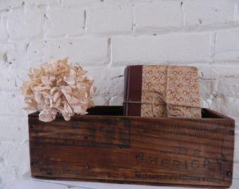 Vintage Kraft Cheese Box/Crate