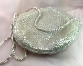 Beaded purse, special occasion purse