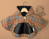 MEDIUM Car Seat Poncho Cape Fleece (Burberry)