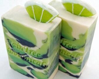 Da Lime in Da Coconut Gourmet cold Process Soap