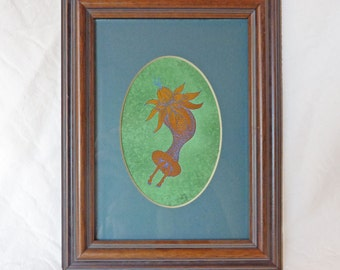 Haeckel Hommage framed Giclee print undersea dancer Susan Sanford Art