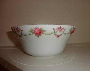 Pink Rose China Bowl