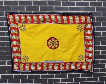East African Swahili Kanga Fabric