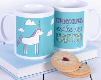 Cute Unicorn Mug - Unicorn Gifts - Gifts for Girls - Gift for Unicorn Lovers