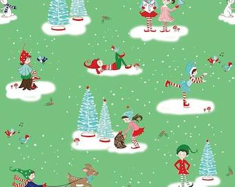 Riley Blake - pixie noel Christmas Fabric