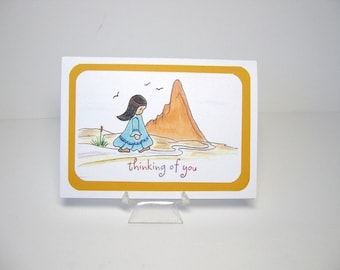Note card, greeting card, blank note card, Southwestern note card
