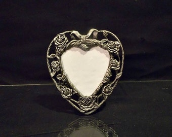 Metal Frame Heart Shaped Petite In Size